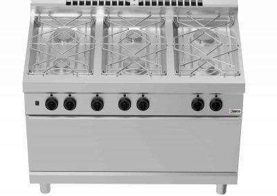 Кухонное оборудование линии Desco 700 - Плиты с духовкой