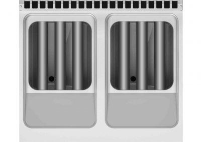 Кухонное оборудование линии Desco 700 - Складные резисторы для простой очистки