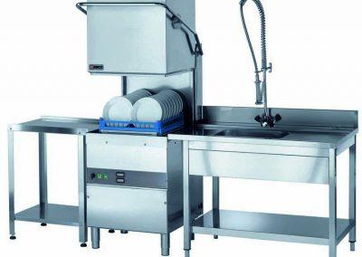 Линия оборудования мойки посуды
